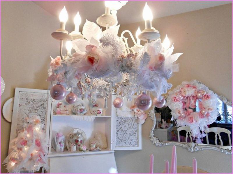decoração natalina romantica