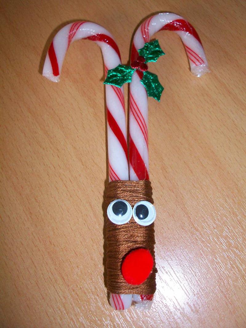 decoração natalina com canudos