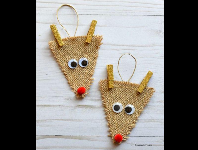 decoração natalina rena