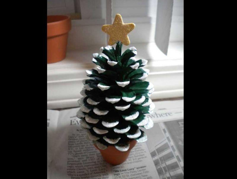 decoração natalina mini