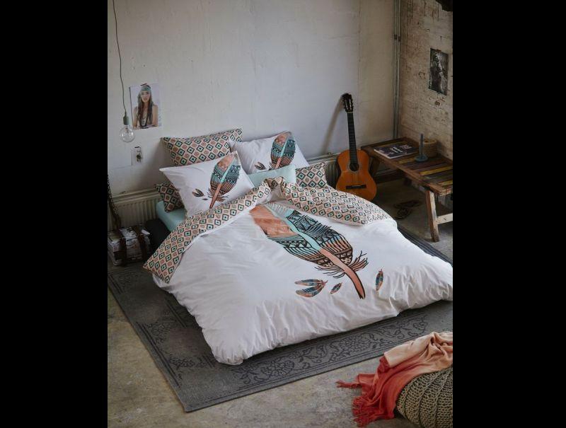 quarto com estilo hippie basico