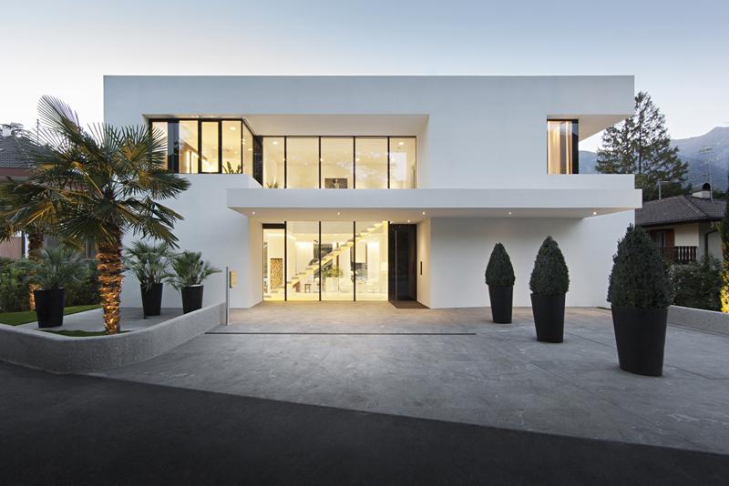 casa linda com linhas retas