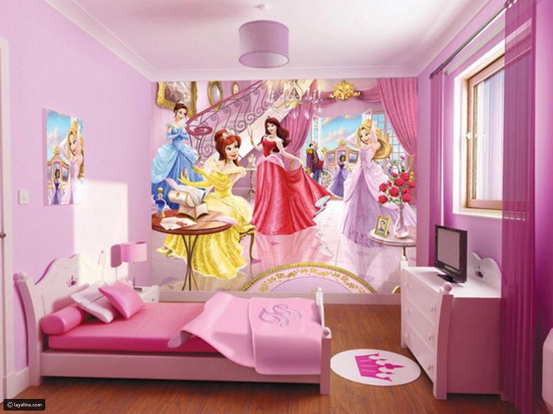 quarto infantil de princesas