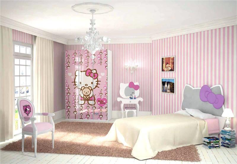quarto infantil gatinha