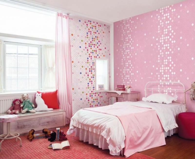 quarto infantil rosa