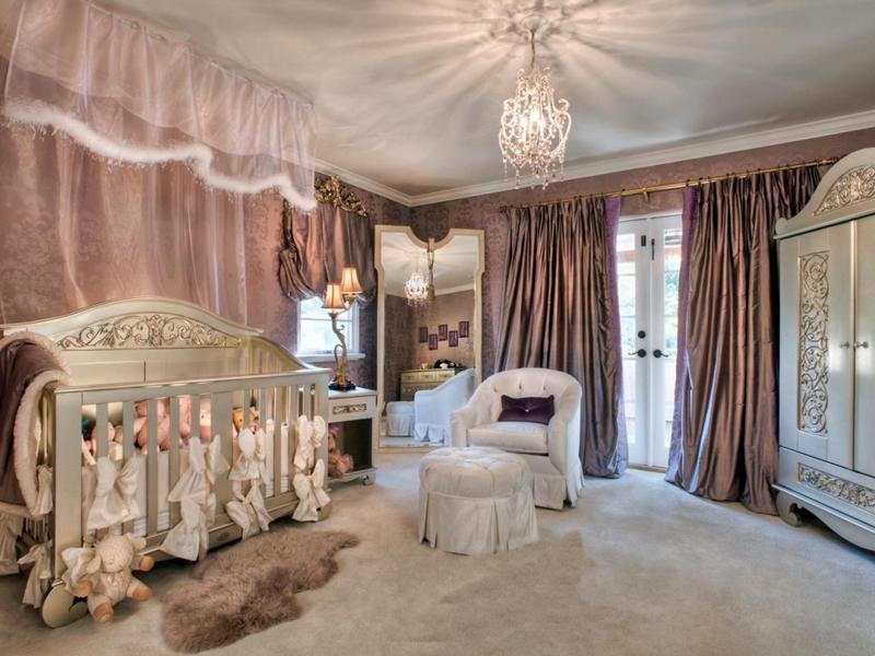 quarto infantil glamoroso