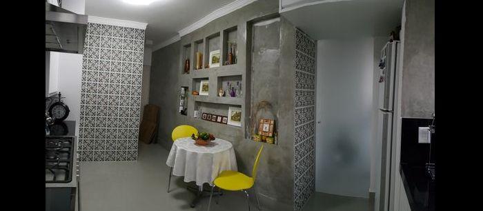ambientes pequenos com parede com concreto aparente
