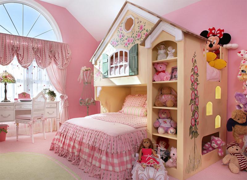 quarto infantil de boneca