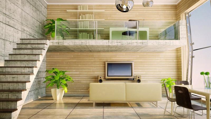varanda interna minimalista
