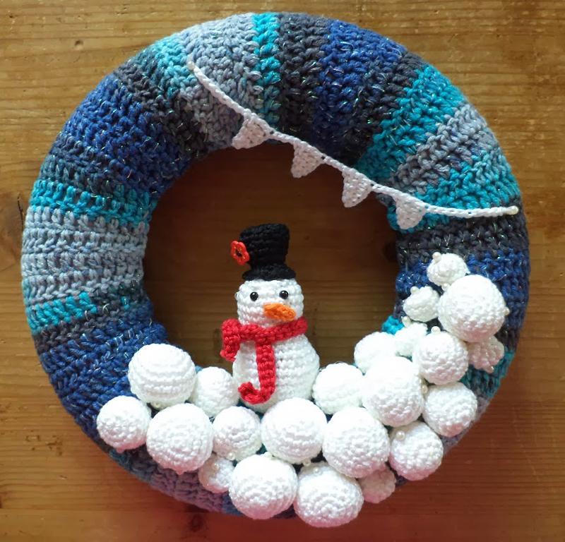guirlanda natalina croches