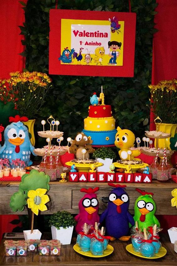 Festa Da Galinha Pintadinha 62 Ideias Para Aniversário