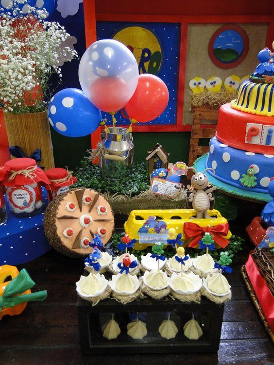 festa da Galinha Pintadinha balão