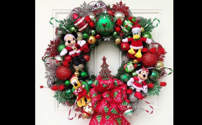 guirlanda natalina mickey