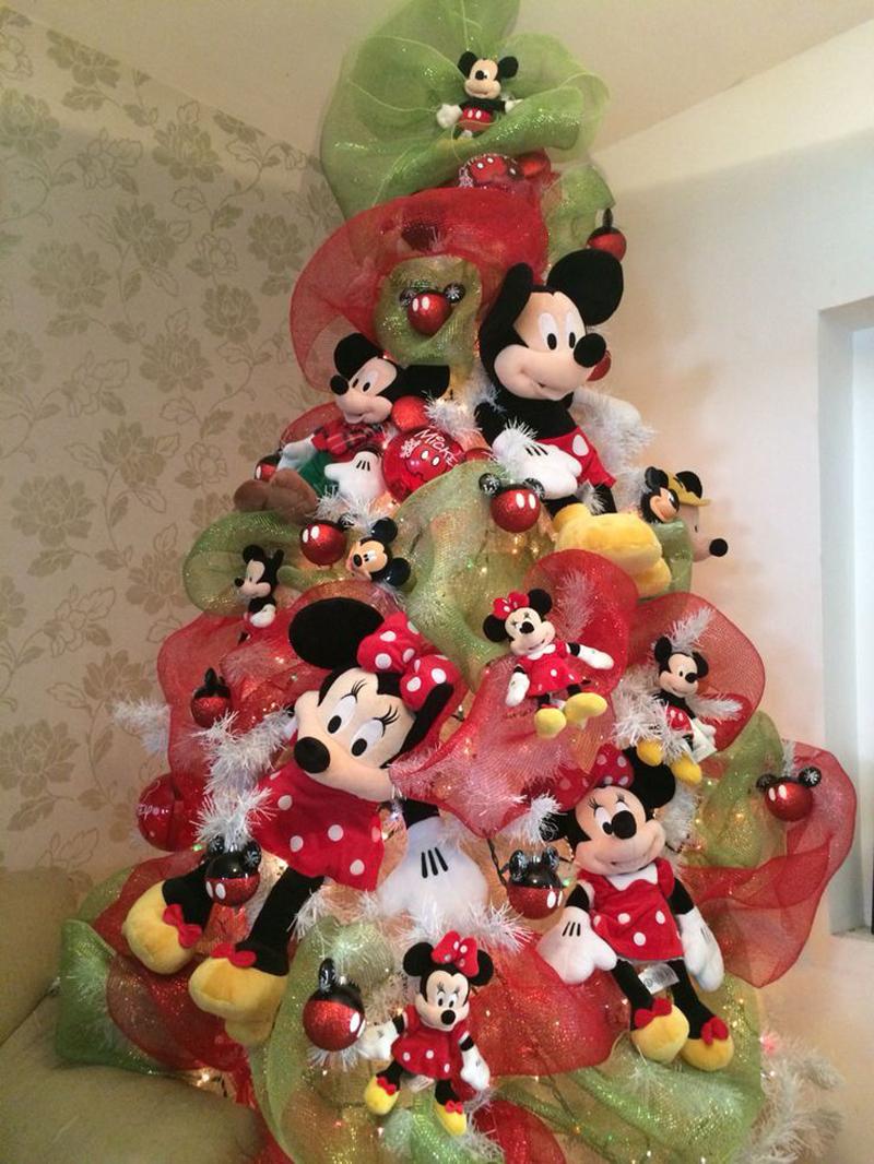 pinheiro natalino minnie mickey