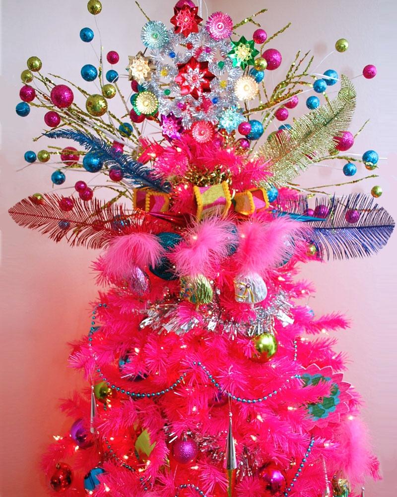 pinheiro natalino penas e plumas