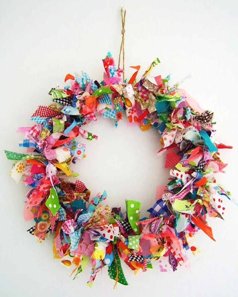guirlanda natalina colorida