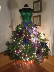pinheiro natalino vestido
