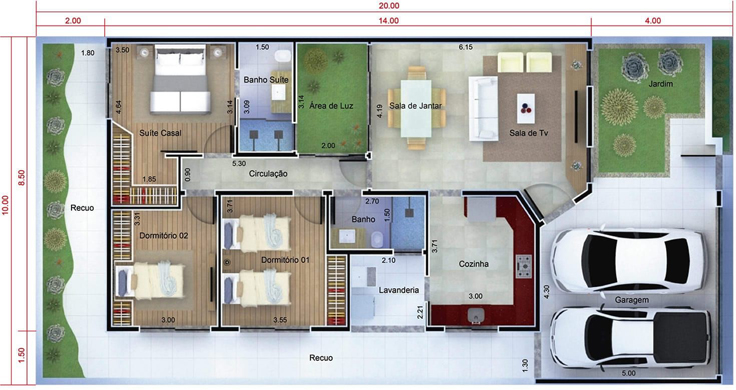 projeto de casa enorme