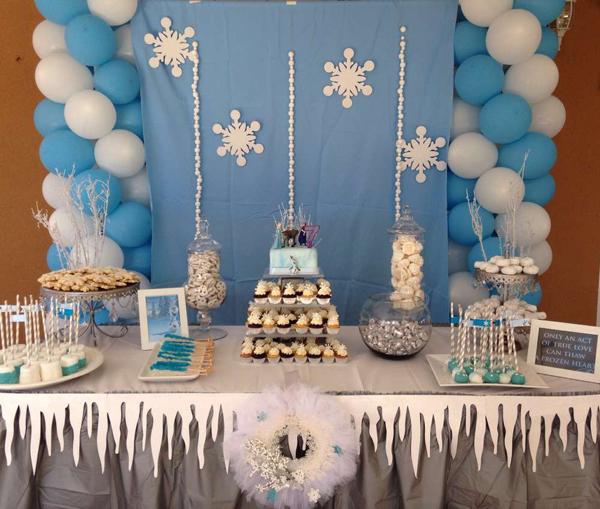 festa Frozen bexiga