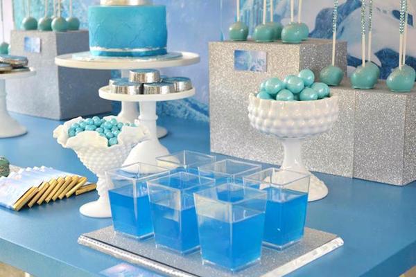 festa Frozen bebidas