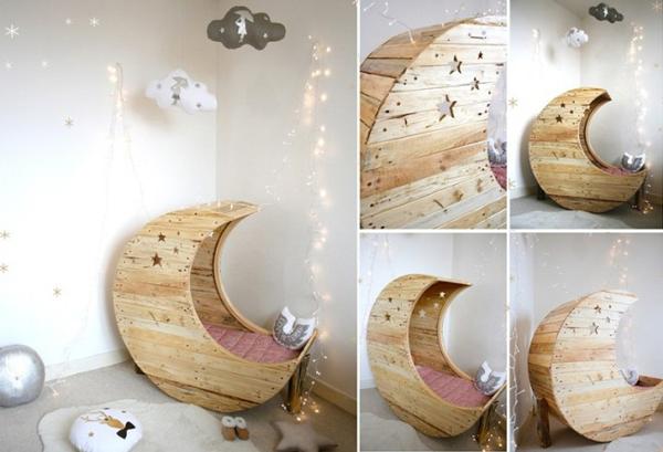 Artesanato em madeira berço