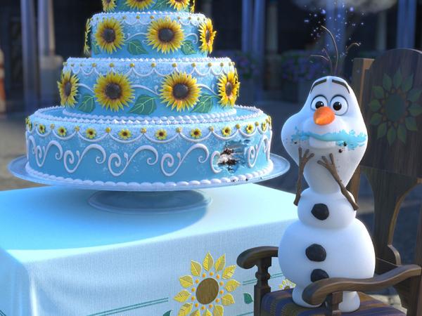 festa Frozen olaf