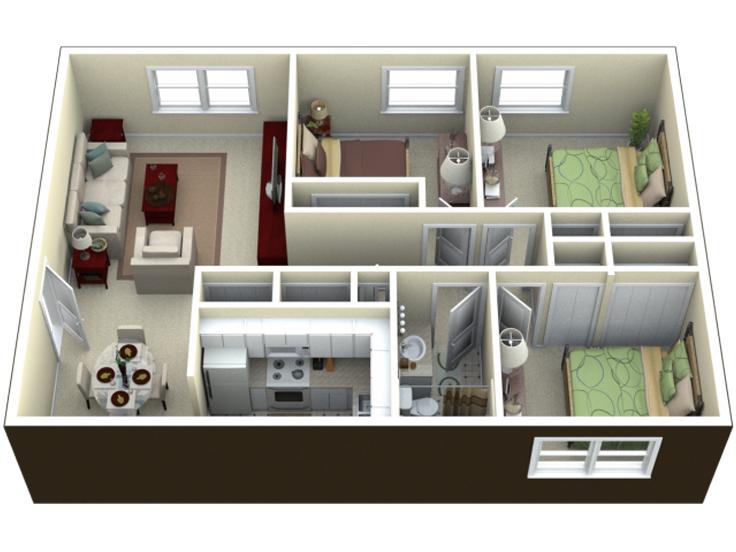 projeto de casa singela