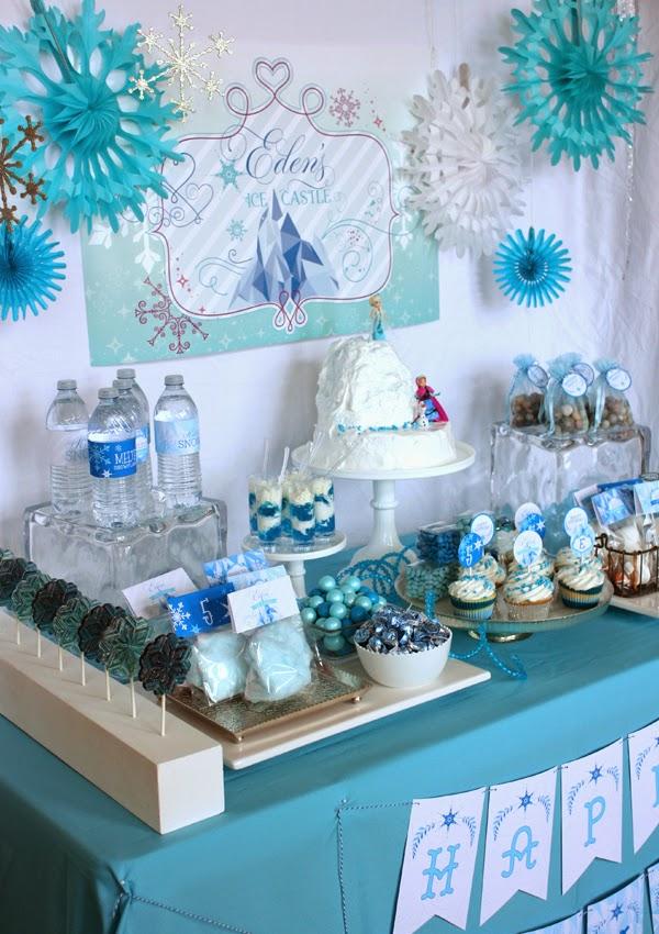 festa Frozen fofa