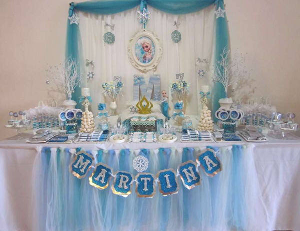 festa Frozen fofinha
