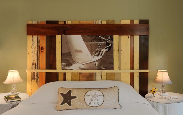 Artesanato em madeira com foto