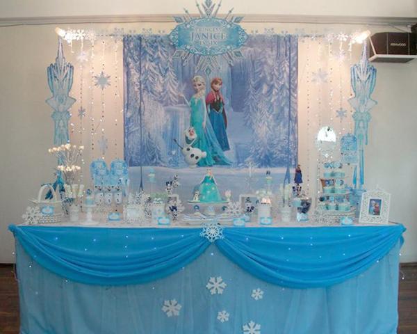 festa Frozen toalha