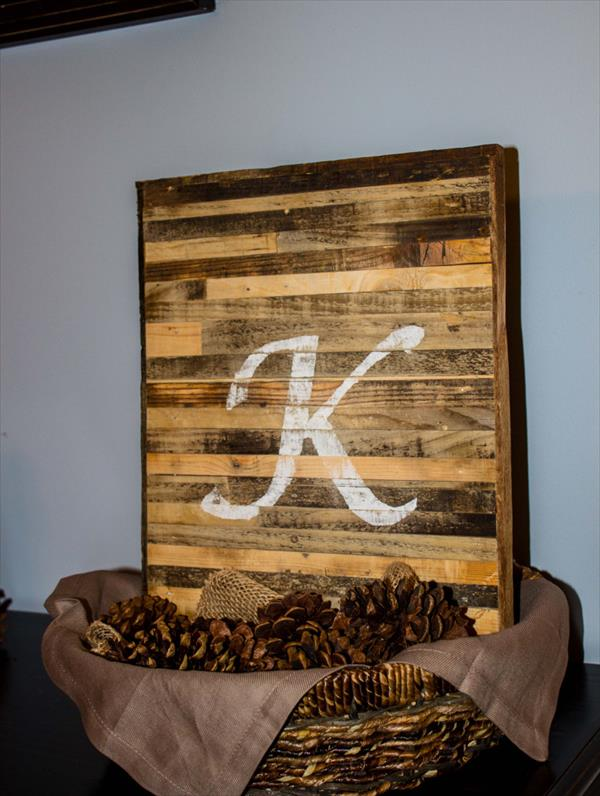 Artesanato em madeira placa
