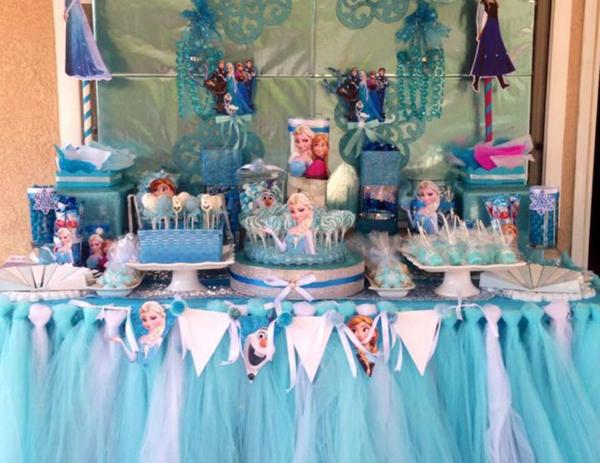 festa Frozen tule
