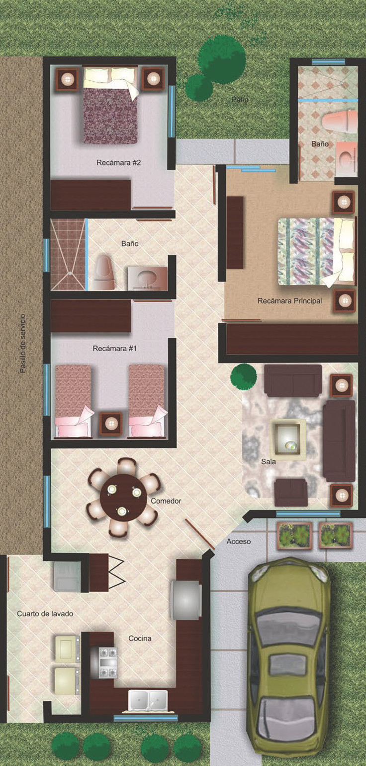 projeto de casa cozinha