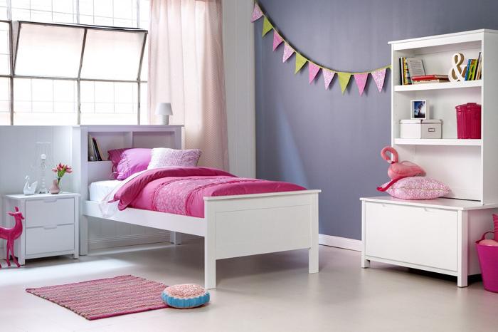 quarto de solteiro lilas