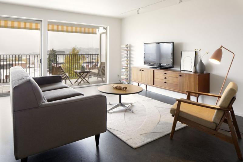 sala de tv apartamento