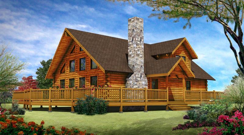 casa com madeira laranja