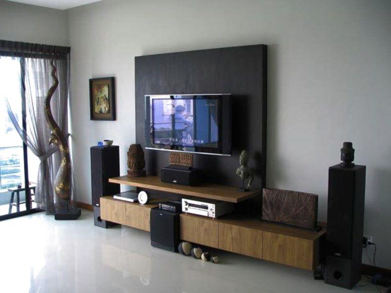 sala de tv painel