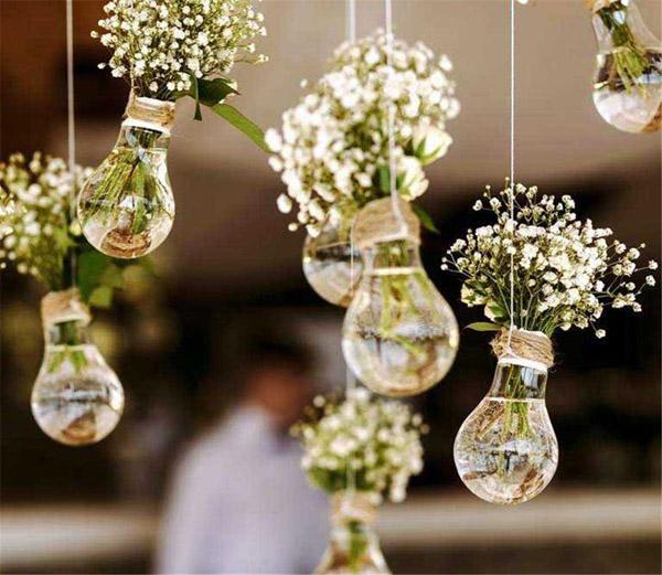 decor casamento lampada