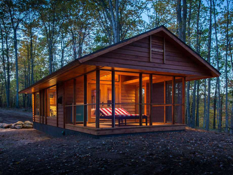 casa com madeira barata