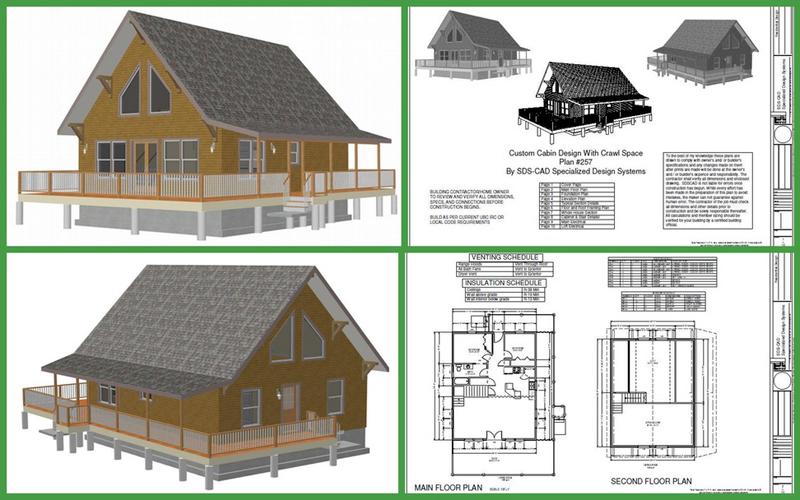 plantas casa com madeira