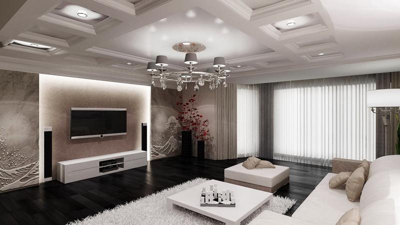sala de tv classica