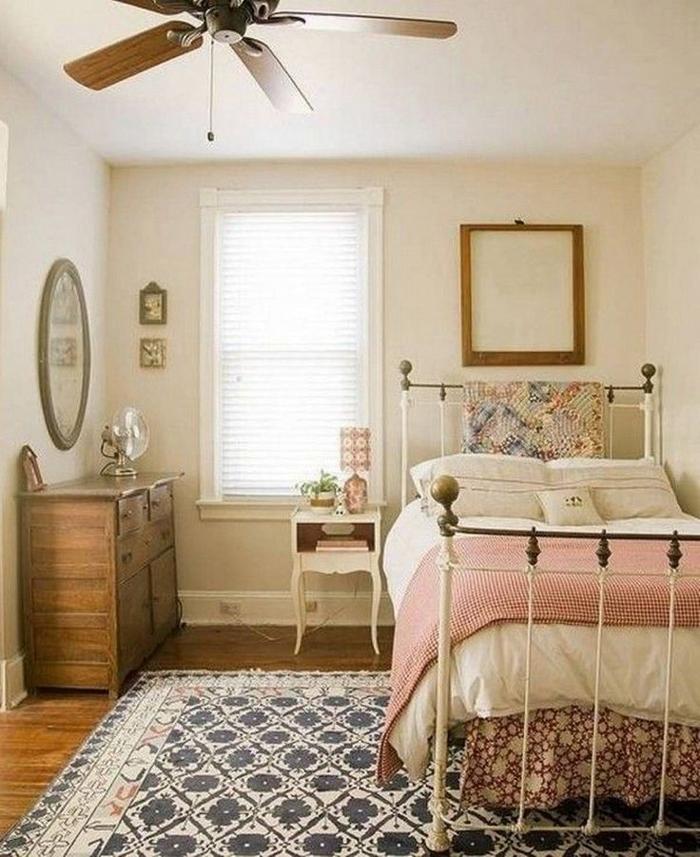 quarto de solteiro romantico