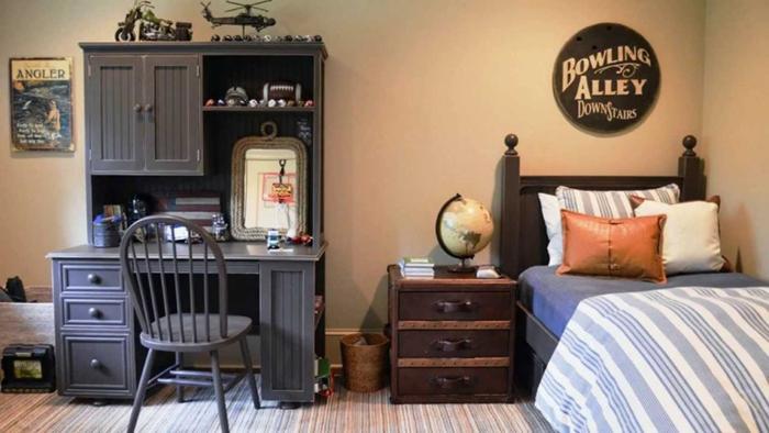 quarto de solteiro vintage