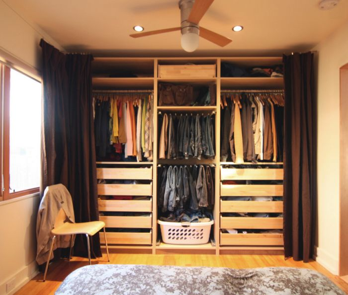 armario planejado cortina