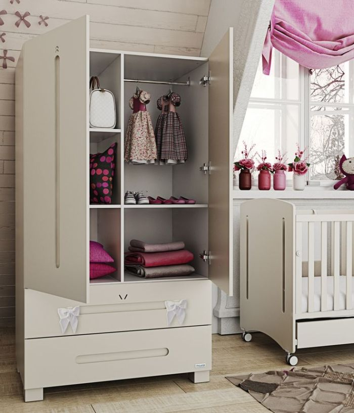 Guarda roupa planejado 55 fotos e modelos de projetos - Armarios para bebe ...