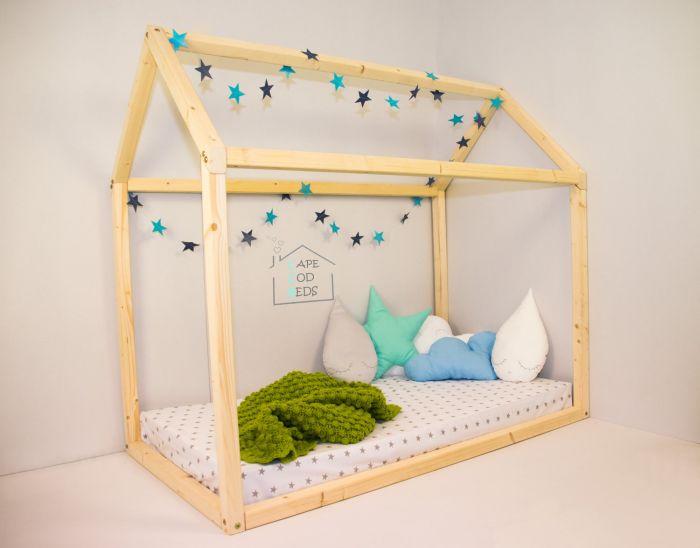 quarto montessoriano cama casinha