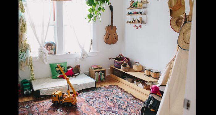 quarto montessoriano hippie