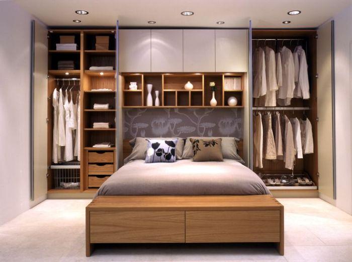 armario planejado com luz