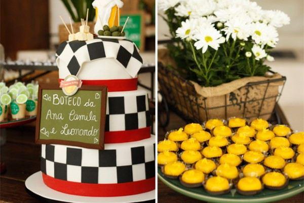 bolo decorado com pasta americana